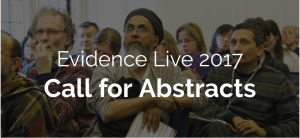 EvidenceLive 2017  21st to 22nd June 2017