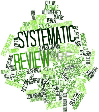 Image result for systematic review
