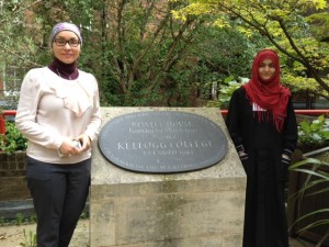 Zulfa and Amena2 Oxford 2014