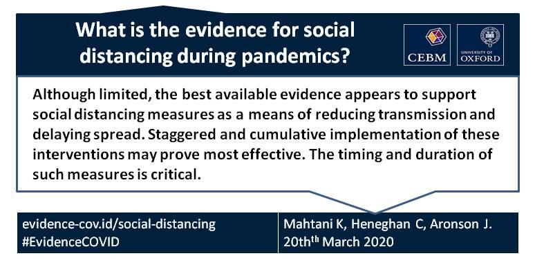 Social distancing details