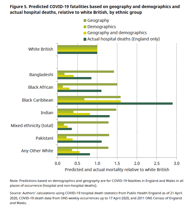 Bame Covid 19 Deaths What Do We Know Rapid Data Evidence Review The Centre For Evidence Based Medicine